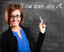 Индивидуальный учитель на занятиях